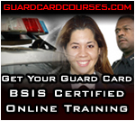 Online CA State Certified Security Guard Training - Save Time and Money!